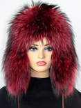 Russian Raccoon Full Skin Musher Hat