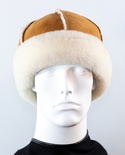 Genuine Sheepskin 6-Paneled Hat
