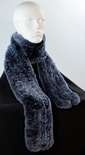 Knitted Chinchilla REX Scarf
